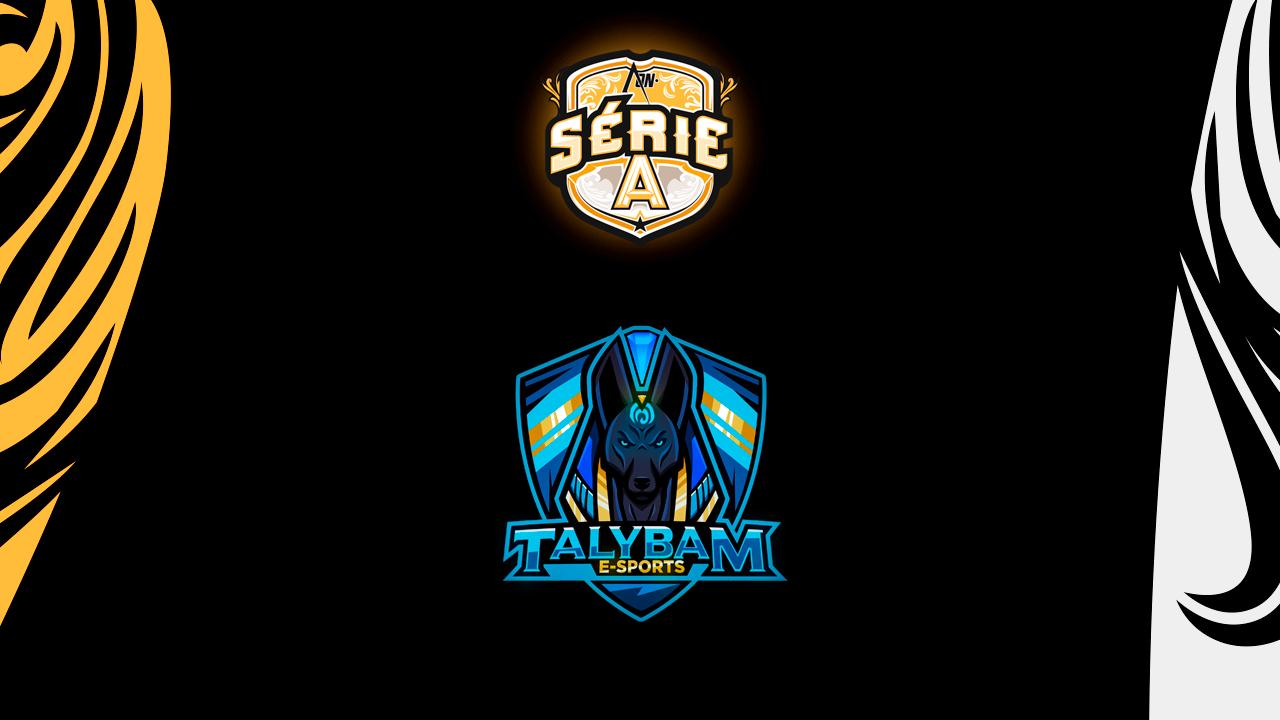Talybam E-Sports é aprovada no processo seletivo para a Série A